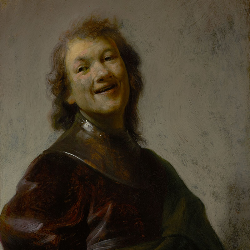 Rembrandt Laughing (The J. Paul Getty Museum)
