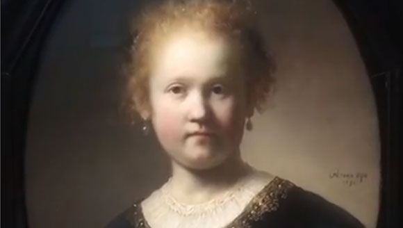 A tour of Rembrandt's painting on view at the Getty Museum