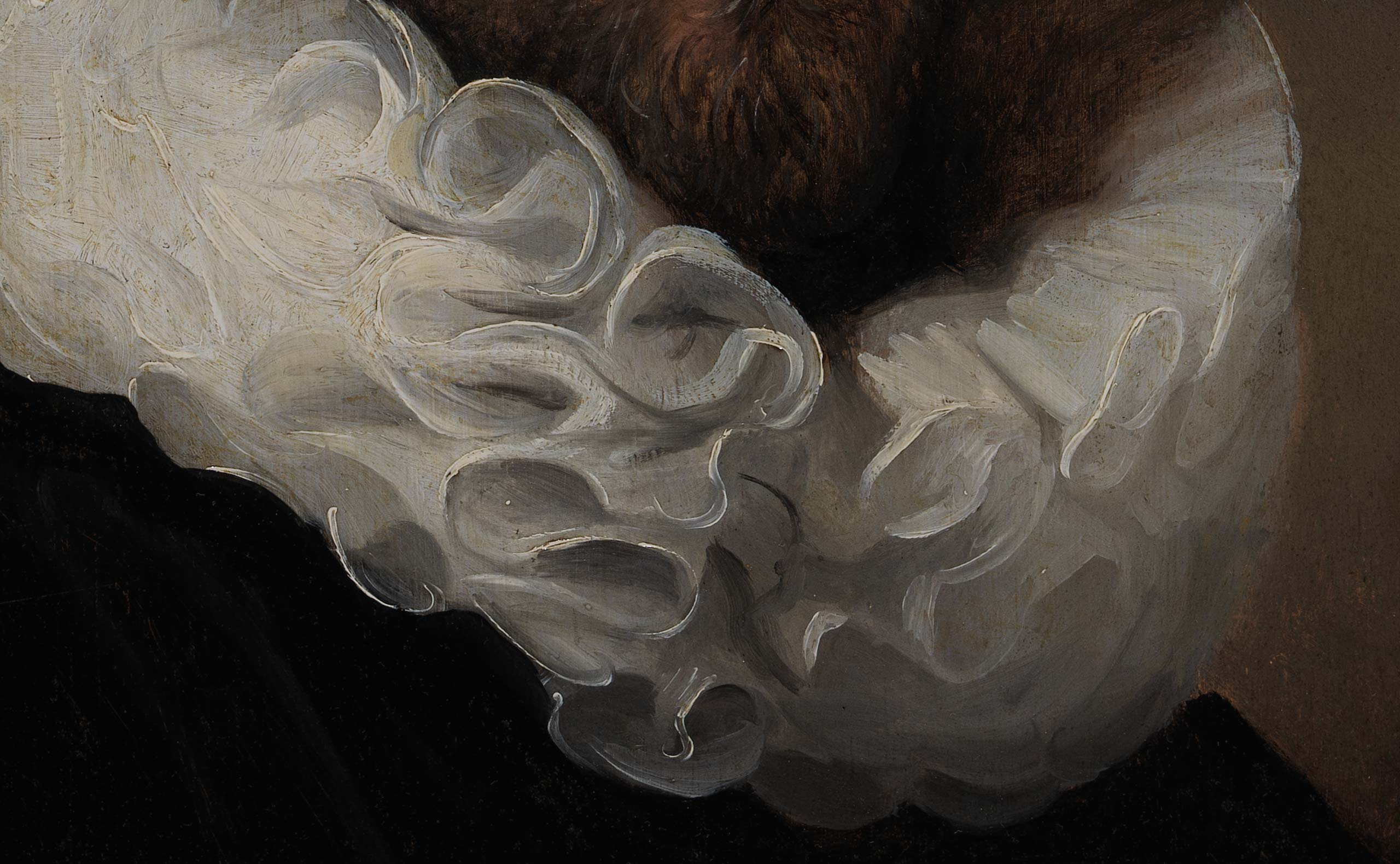 Portrait of Dirck Jansz. Pesser - Detail (Los Angeles County Museum of Art)