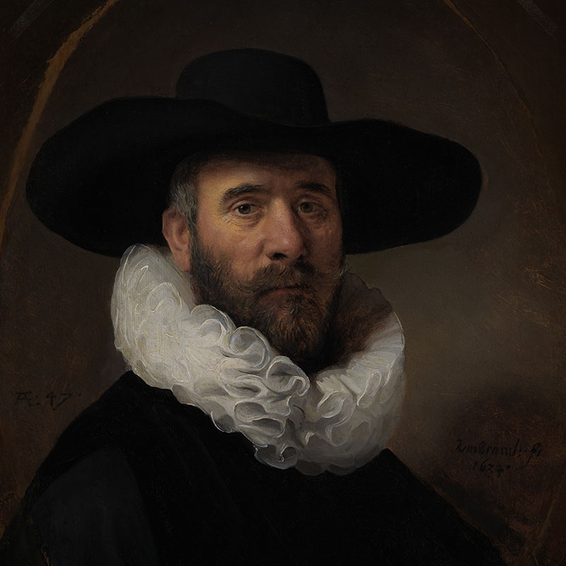 Portrait of Dirck Jansz. Pesser (Los Angeles County Museum of Art)