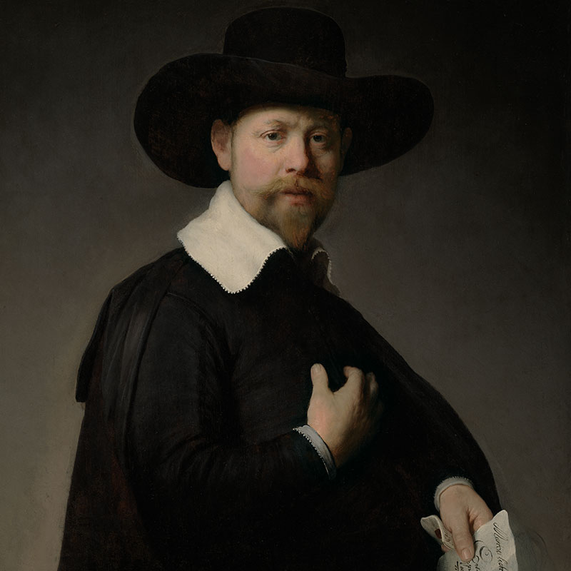 Portrait of Marten Looten (Los Angeles County Museum of Art)