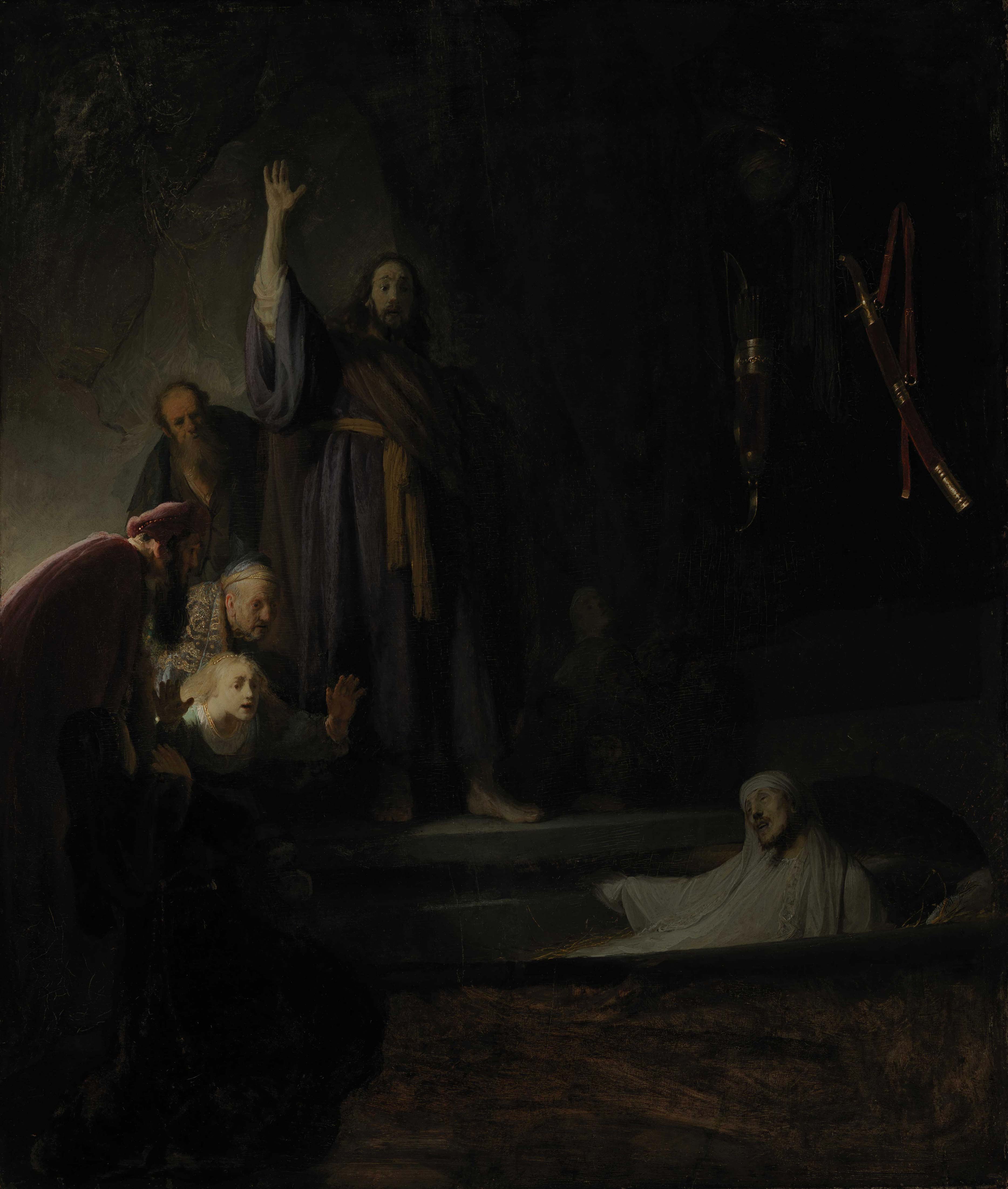 The Raising of Lazarus - Rembrandt in Southern California
