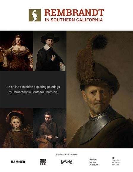 Rembrandt In Southern California Exhibition Guide